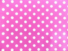 Purple with 7mm White Spot 100% Cotton Fabric (2)